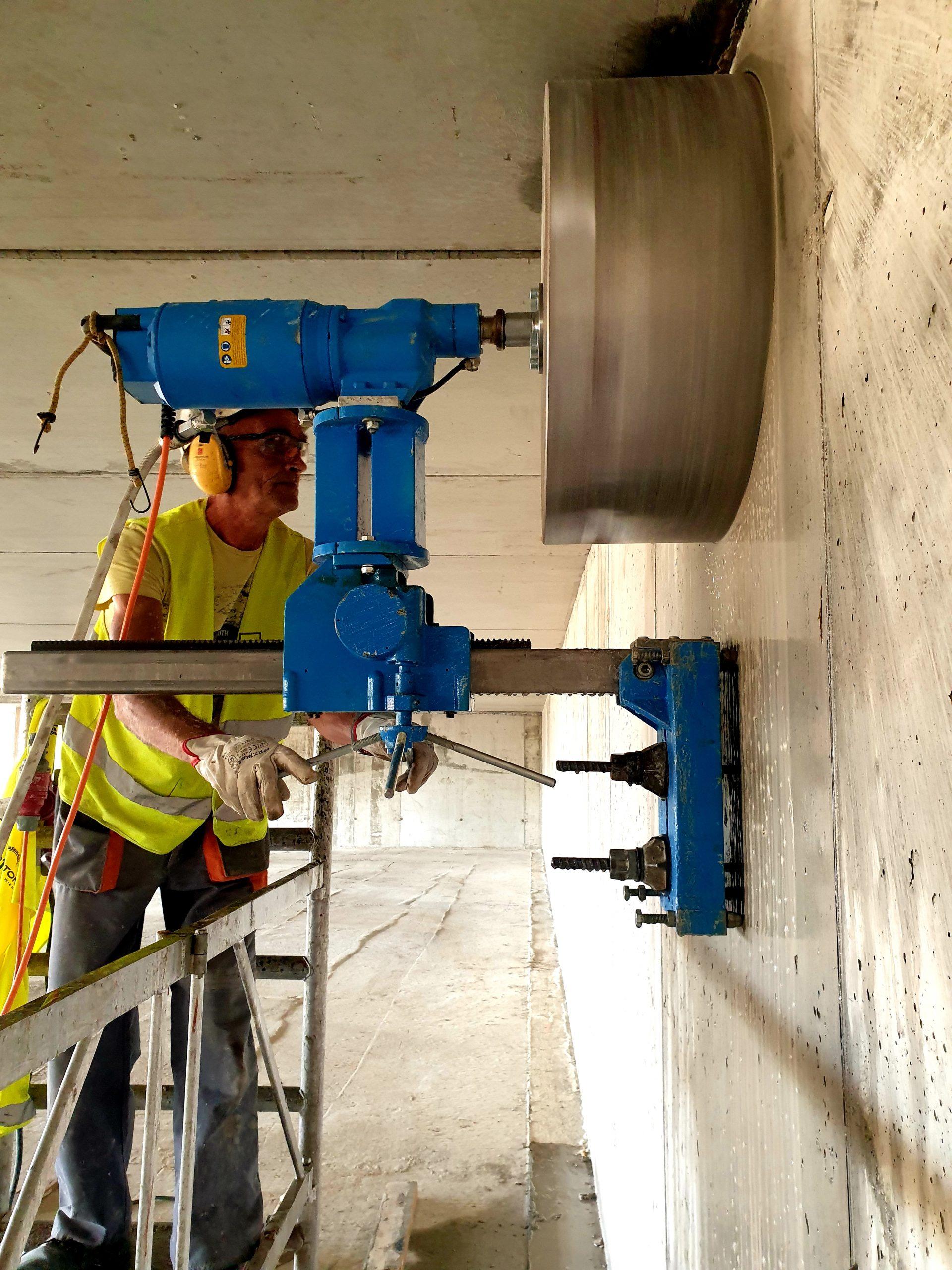 Wiercenie w betonie Płock
